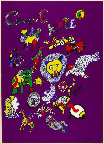 An image of Cirque Knie by Niki de Saint Phalle