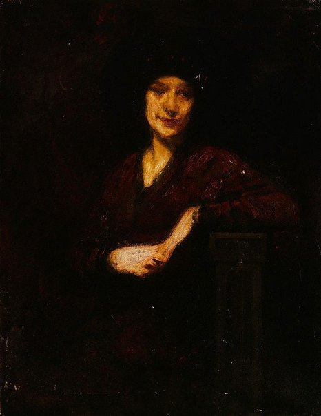 An image of A Polish lady by George James Coates