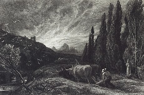 An image of The early ploughman