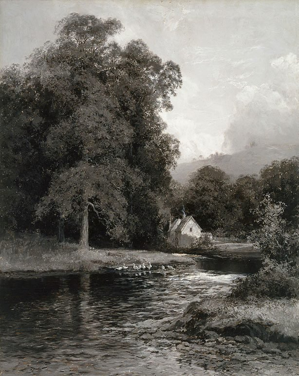 An image of The mill stream