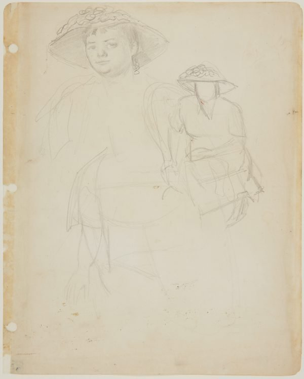 An image of Study for 'Margaret Olley'