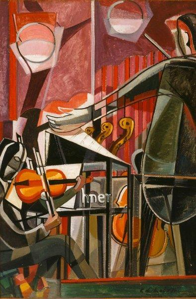 An image of The concert by Roy de Maistre