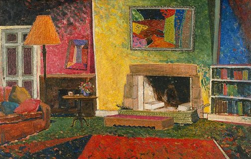 An image of The sitting room at Gilliver Avenue by John D. Moore
