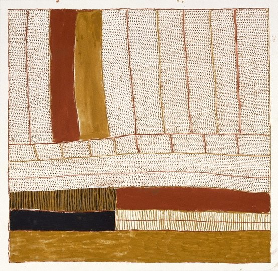 AGNSW collection Kutuwulumi Purawarrumpatu Untitled 1997