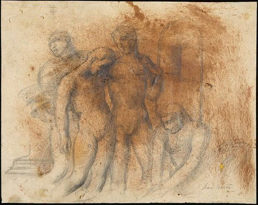 An image of Four figures by Jean Bellette