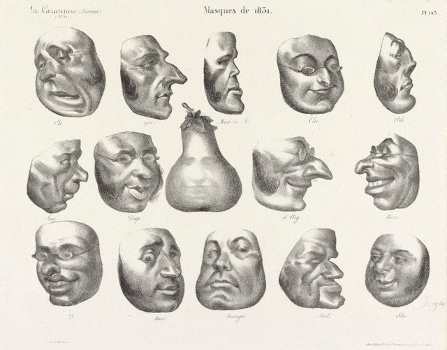 An image of Masks of 1831