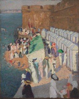 La marée haute à Saint-Malo, (circa 1911-circa 1912) by Ethel Carrick