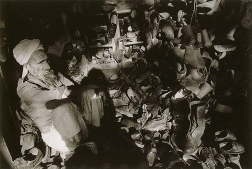 An image of Shoe maker, Afghanistan by Robert Ashton