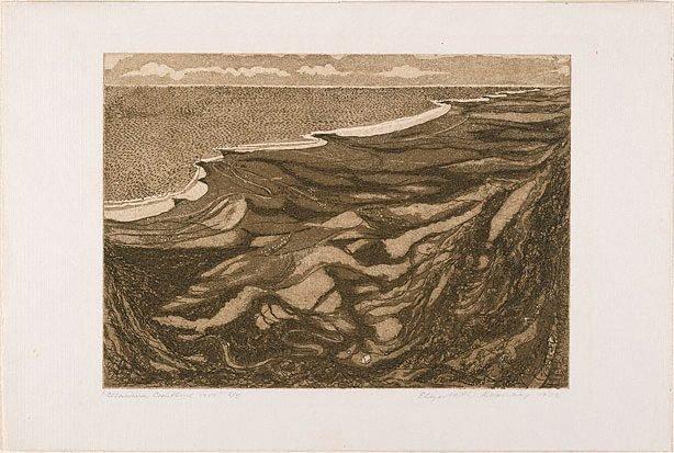Illawarra coastline 1950, (1972) by Elizabeth Rooney