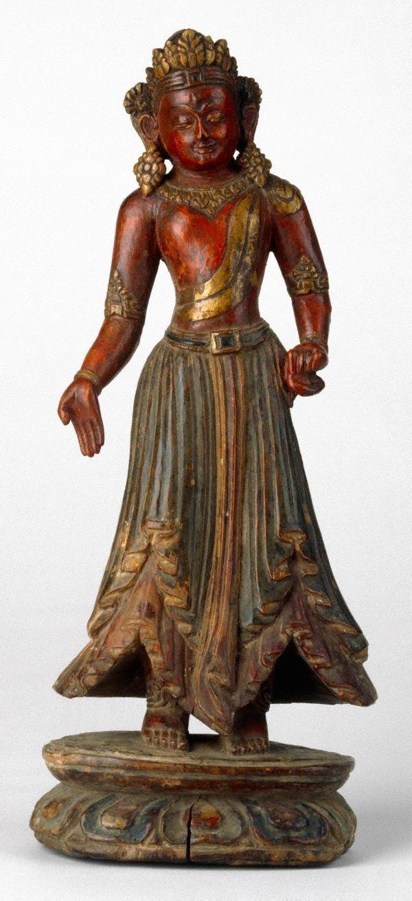 An image of Tara, Buddhist bodhisattva