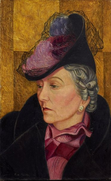 An image of Mrs Victor White by Roy de Maistre