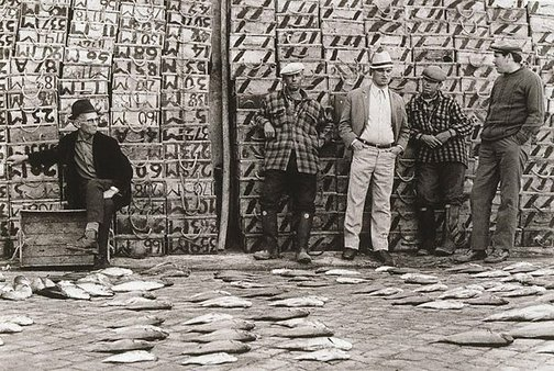 An image of Fishermen - Portugal by Robert Ashton