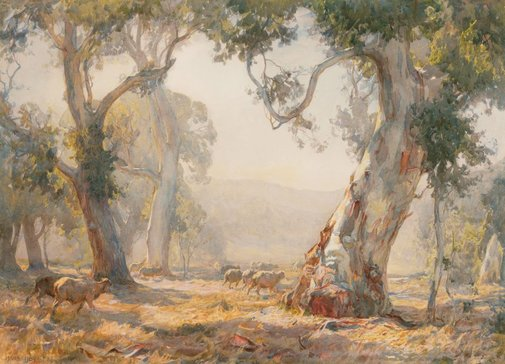An image of Summer by Hans Heysen