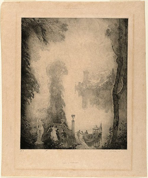 An image of Lands of afternoon by Norman Lindsay