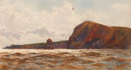 An image of Near Exmouth by William Ayerst Ingram