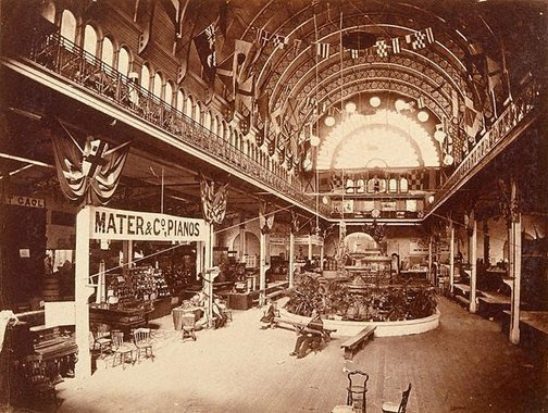 An image of Interior, Exhibition Hall, Sydney by Unknown