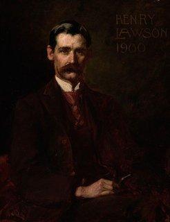 Henry Lawson, (1900) by John Longstaff