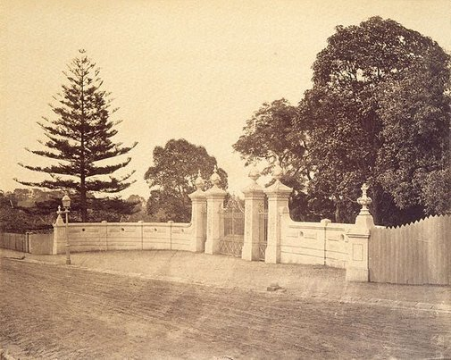 An image of Conservatorium Gates, Sydney by Unknown