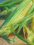 Alternate image of Corn cobs by Nora Heysen