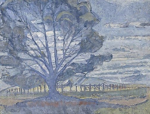 An image of Willunga landscape by Horace Trenerry