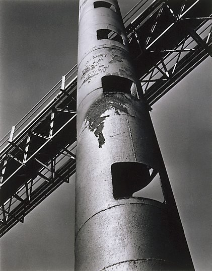 An image of Rusty pipe by Max Dupain