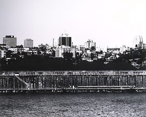An image of Parramatta River: Waverton 1980 by Mark Johnson