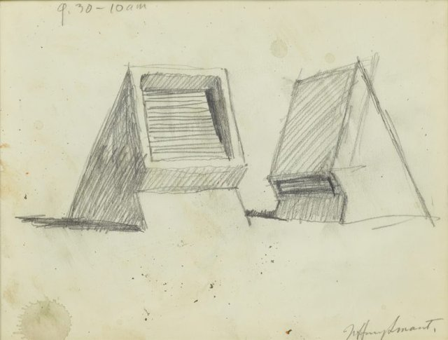 An image of Study for 'Ventilators, The Domain' 1981