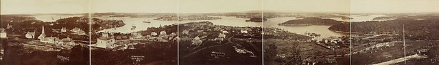 An image of Panorama of Sydney and the Harbour, New South Wales