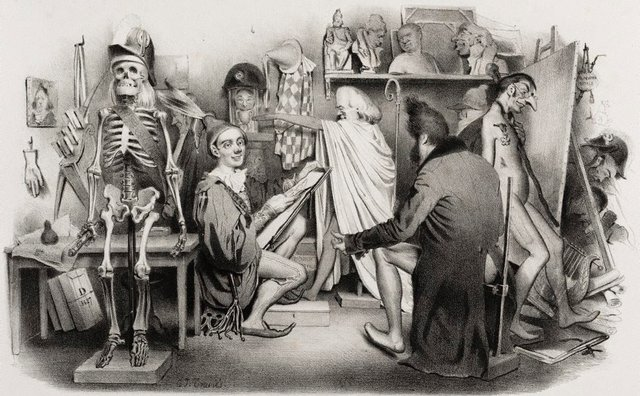 An image of Studio of La Caricture and Le Charivari