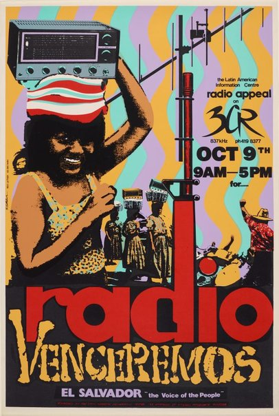 An image of Radio Venceremos by Redletter Press, Bob Clutterbuck