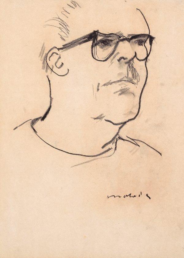 An image of Hal Missingham (Portrait sketch)