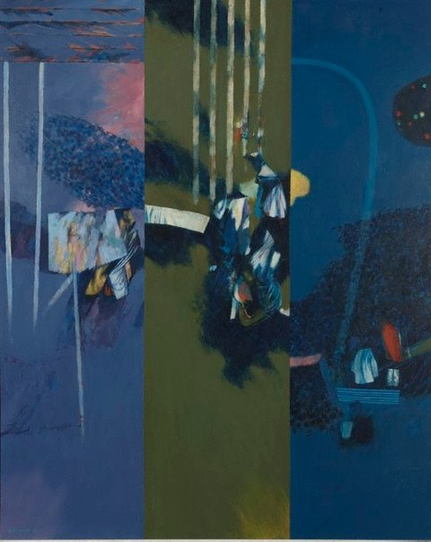 An image of Garden: dawn, noon and night by Louis James