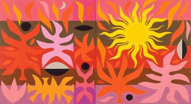 An image of Design for 'Curtain of the Sun', Sydney Opera House (2nd Version)