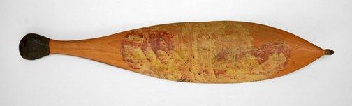 An image of Woomera (Untitled Landscape) by Albert Namatjira