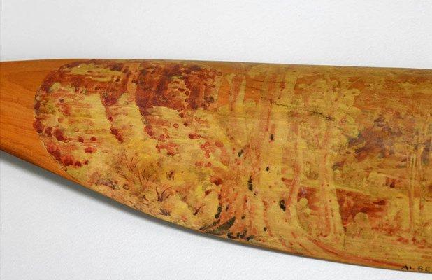 Alternate image of Woomera (Untitled Landscape) by Albert Namatjira
