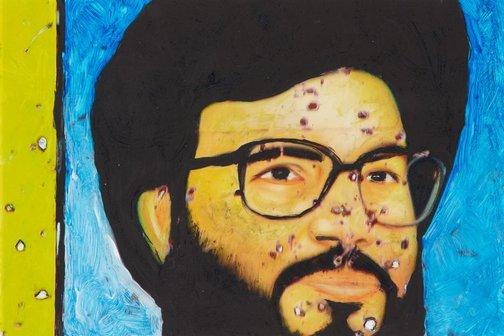 An image of Guerrilla by Khaled Sabsabi