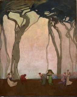 Fantasy, circa 1916-circa 1917 by Sydney Long