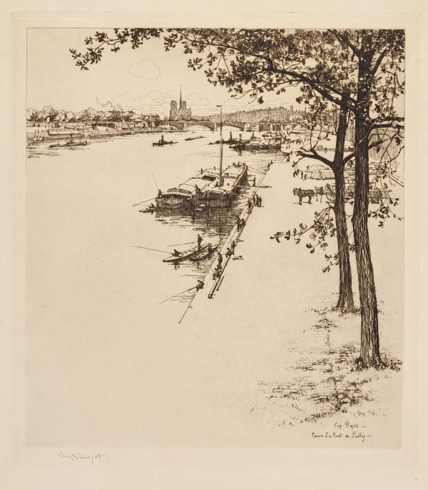 An image of Paris, Le Pont de Sully
