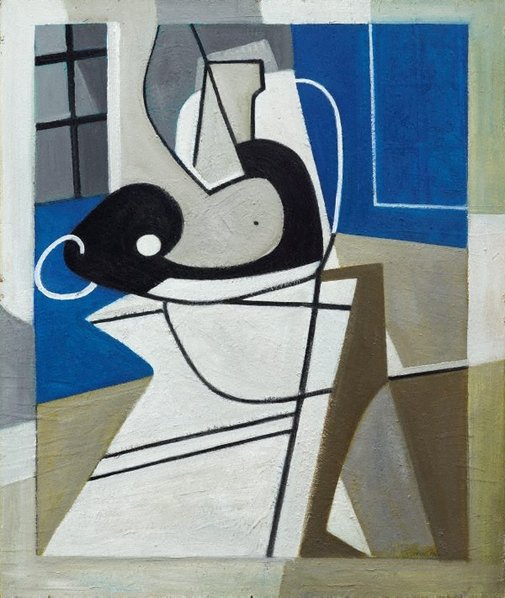 An image of Seated figure by Roy de Maistre