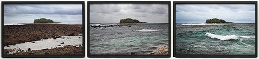 An image of Untitled (tuvaluan triptych) by Tim Silver