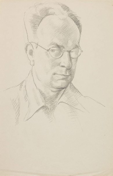An image of (Self portrait) by Roland Wakelin