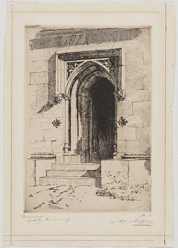 An image of Doorway, Sydney University