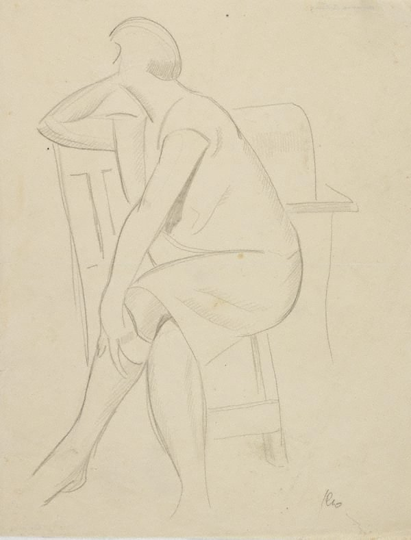 An image of (Seated woman)