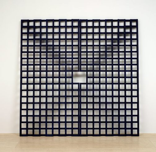 An image of Grid: doors II by Hilarie Mais
