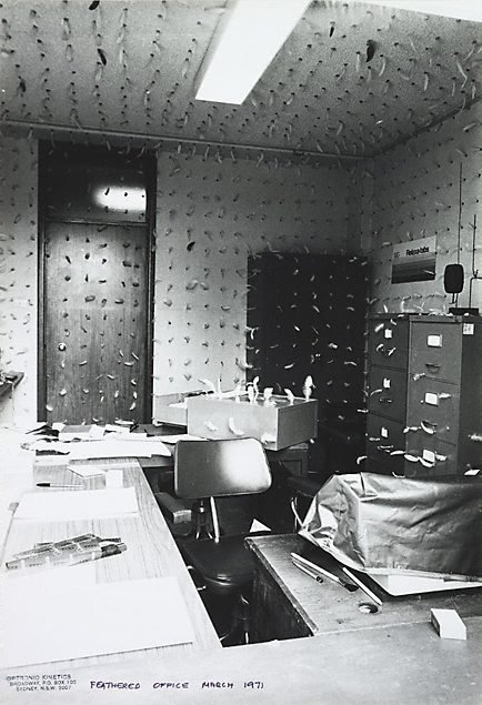 An image of Feathered office