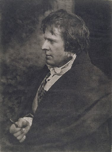 An image of D.O. Hill self portrait by David Octavius Hill, Robert Adamson