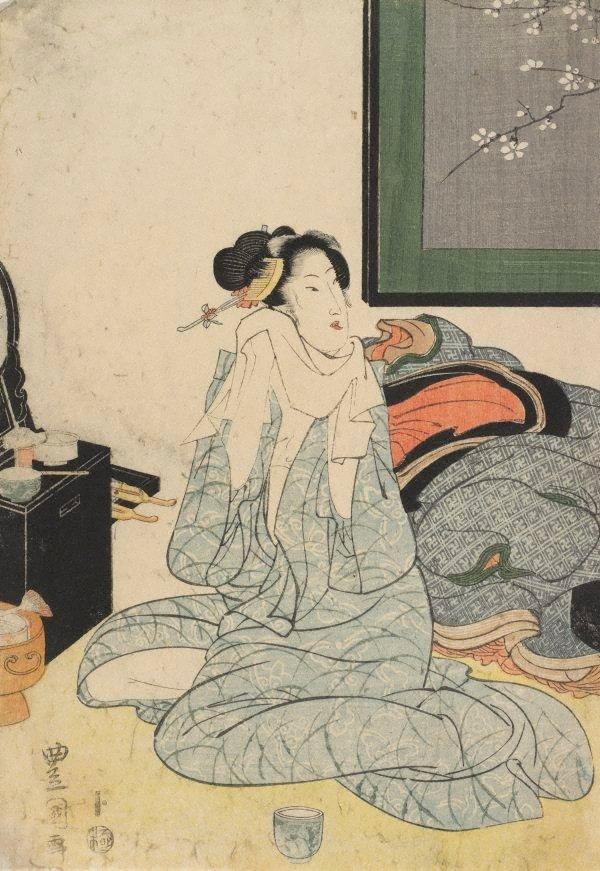 An image of Courtesan after bath