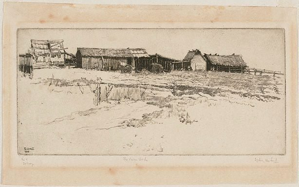 An image of The farm sheds