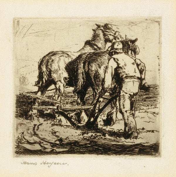 An image of Turning the plough