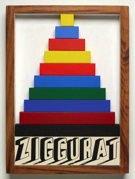 An image of Ziggurat by Joe Tilson